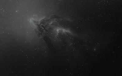 Dark nebula wallpaper