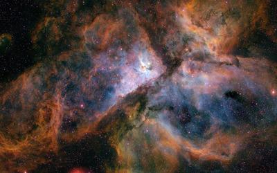 Eta Carinae nebula wallpaper