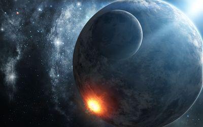 Exploding planet [10] wallpaper
