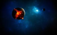 Exploding planet [9] wallpaper 2560x1600 jpg