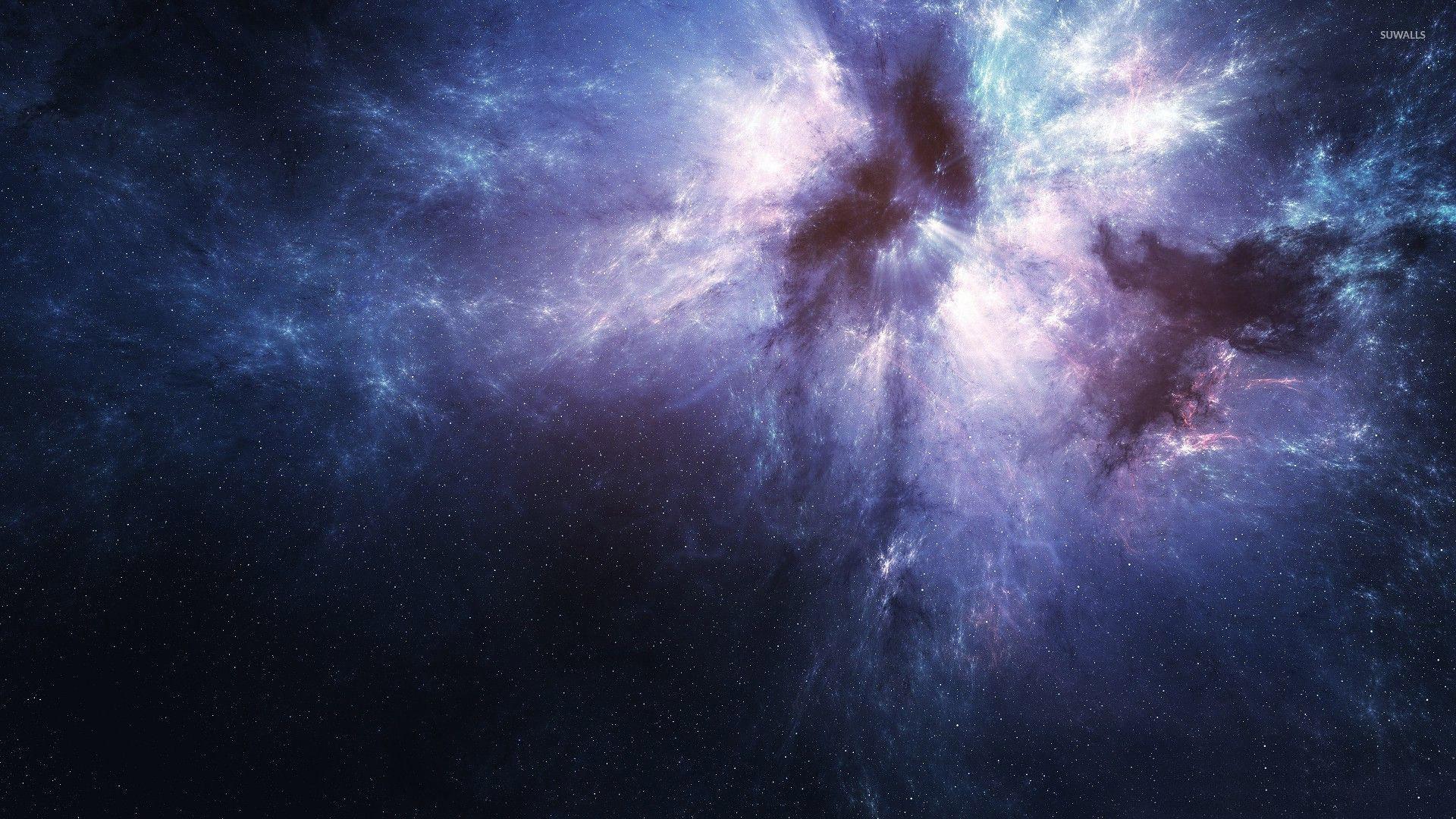 Exploding Star Wallpaper
