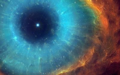 Eye of God Helix nebula wallpaper