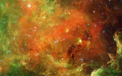 Firey nebula [2] wallpaper