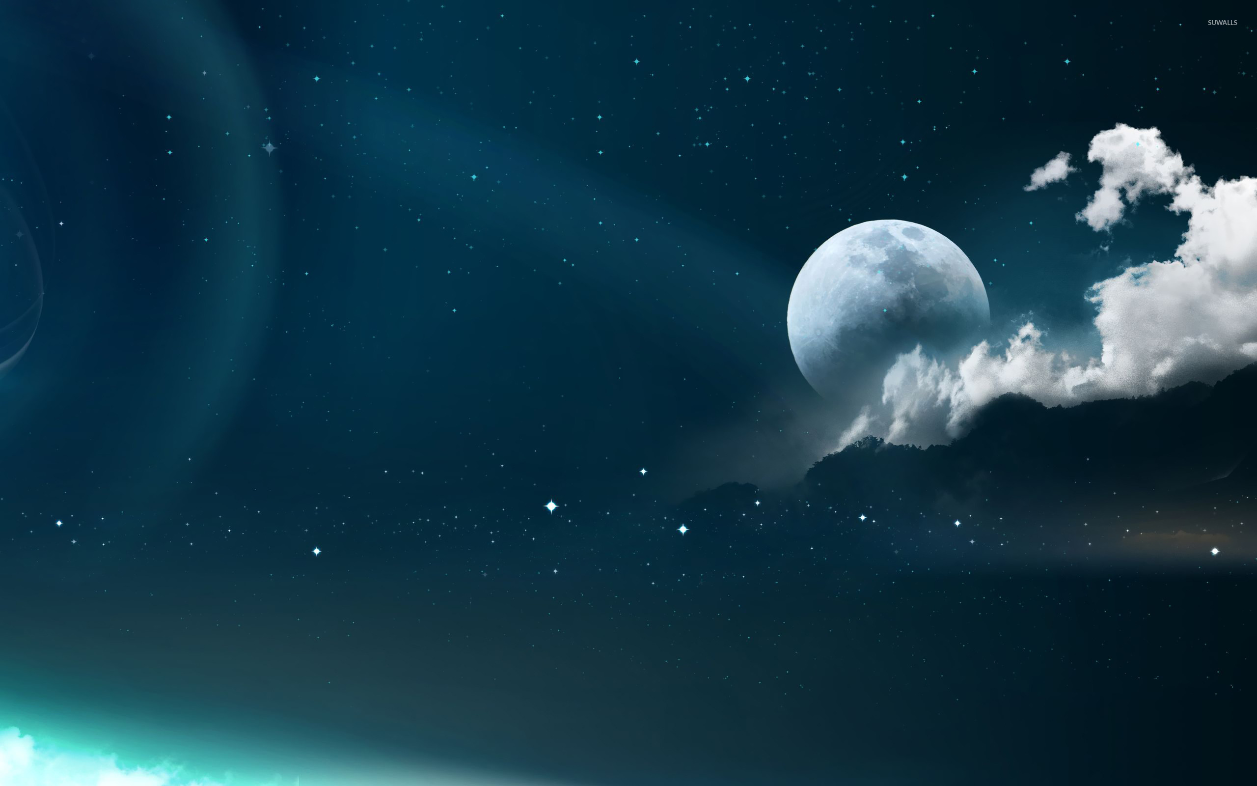 full moon wallpaper - space wallpapers - #22077