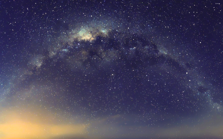 golden light near the galaxy 47382