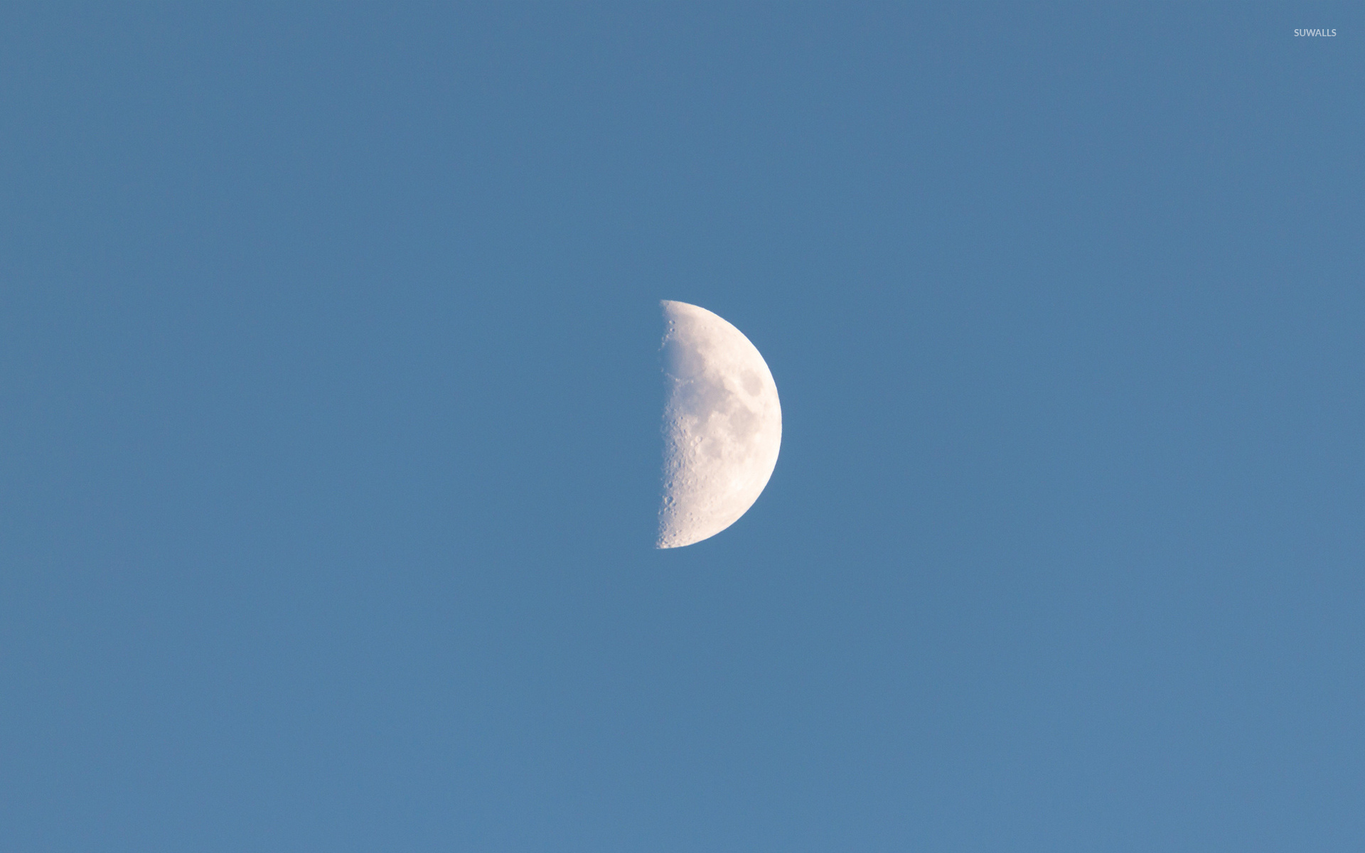 Half moon wallpaper