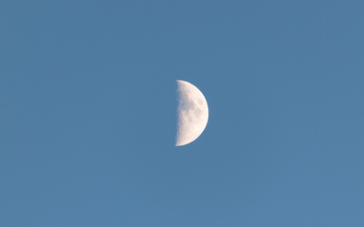 Half moon wallpaper