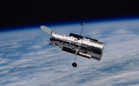 Hubble Space Telescope in orbit wallpaper 3840x2160 jpg