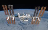 International Space Station [13] wallpaper 2560x1600 jpg