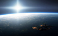 International Space Station wallpaper 1920x1200 jpg