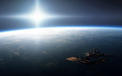 International Space Station wallpaper