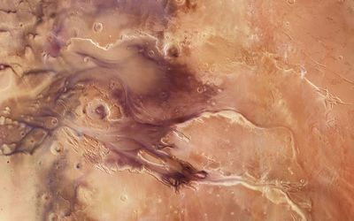 Kasei Valles canyons, Mars wallpaper