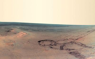 Mars panorama wallpaper