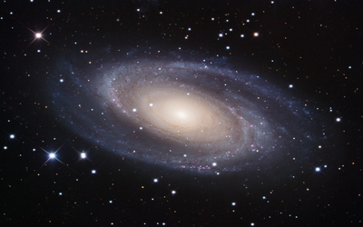 Messier 81 Spiral Galaxy wallpaper
