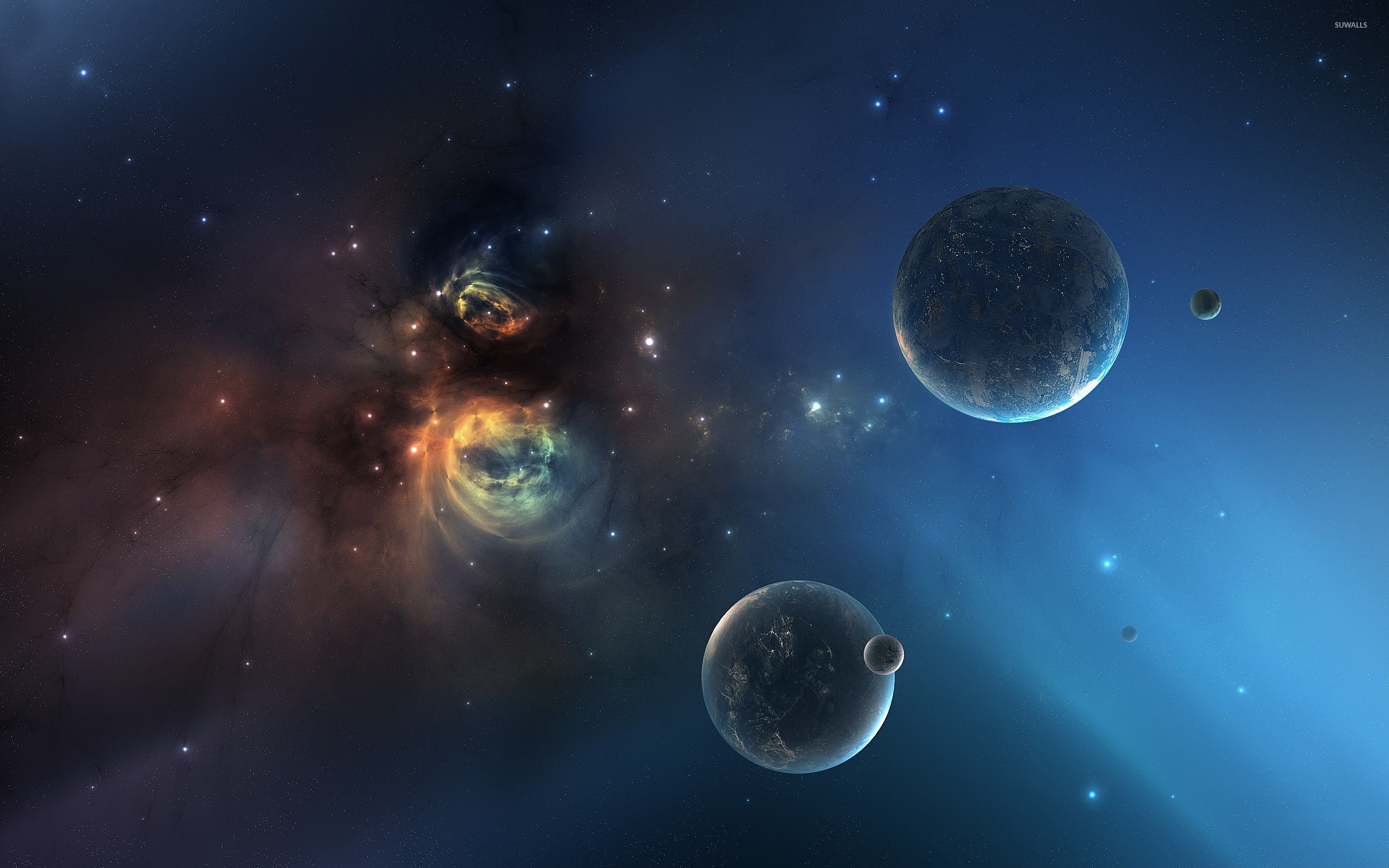 planets and galaxies and nebulas - photo #3