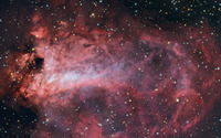 Omega Nebula wallpaper 1920x1200 jpg