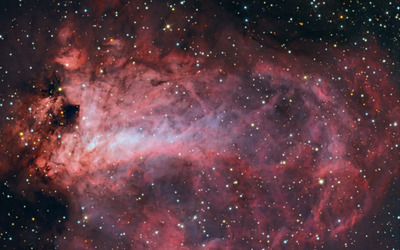 Omega Nebula wallpaper
