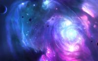 Pink and blue galaxy wallpaper 1920x1200 jpg