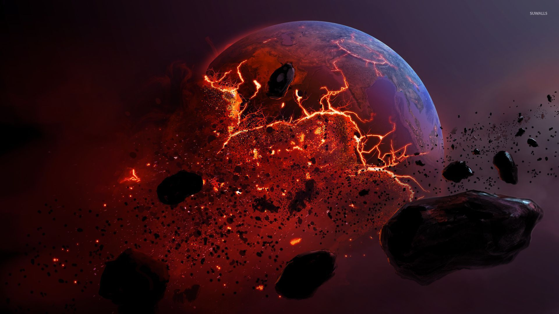 exploding planets wallpapersfor laptops-#24