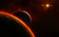 Planets and sun wallpaper 1920x1200 jpg