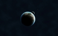 Planets in space [2] wallpaper 1920x1200 jpg