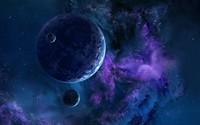 Purple galaxy wallpaper 1920x1200 jpg