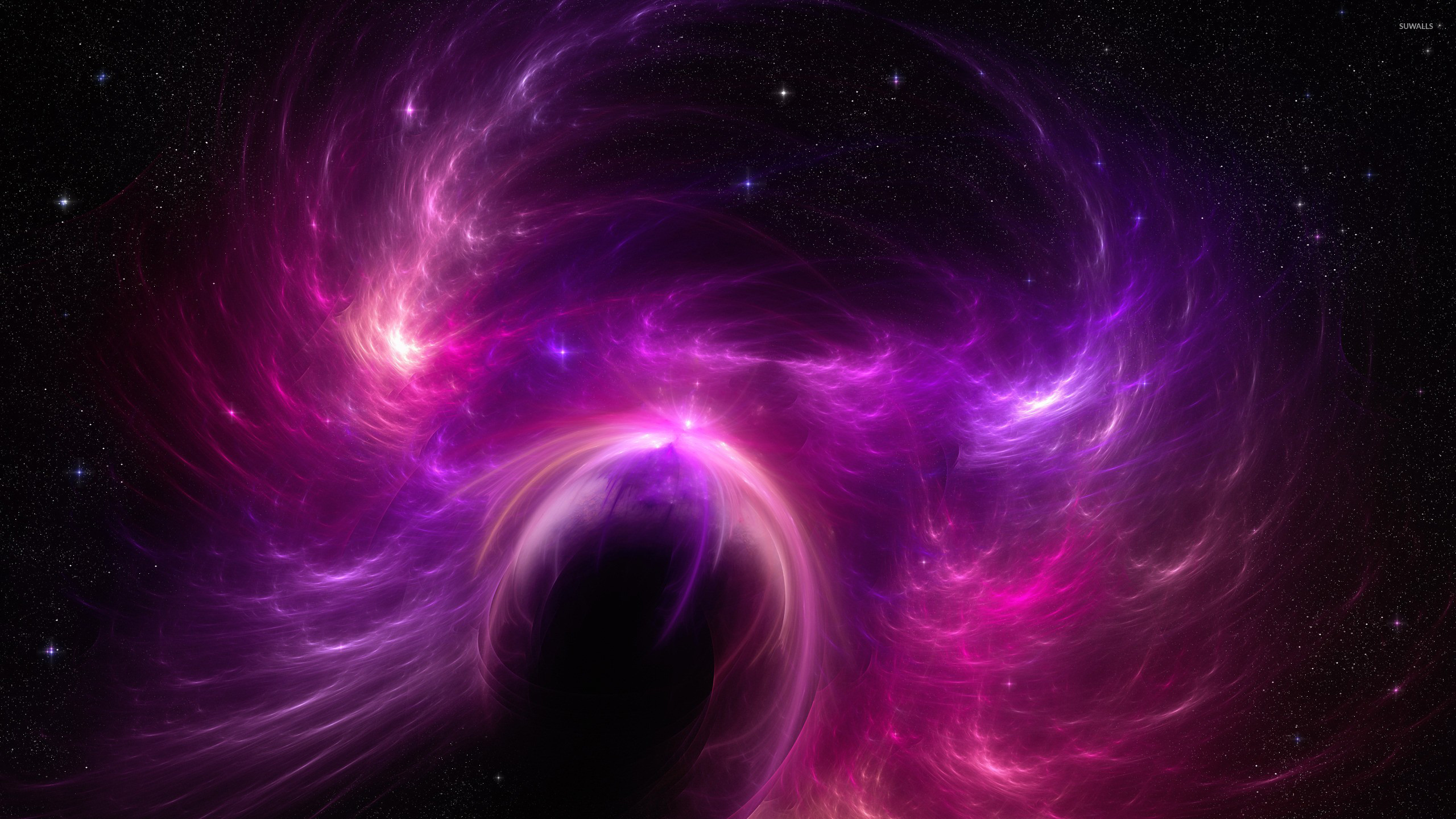 pink and purple nebula - photo #29
