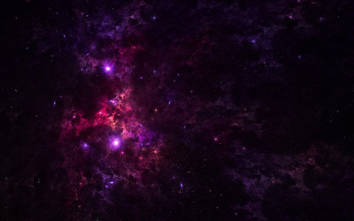 Purple nebula [2] wallpaper