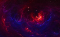 Red and blue nebula wallpaper 1920x1200 jpg