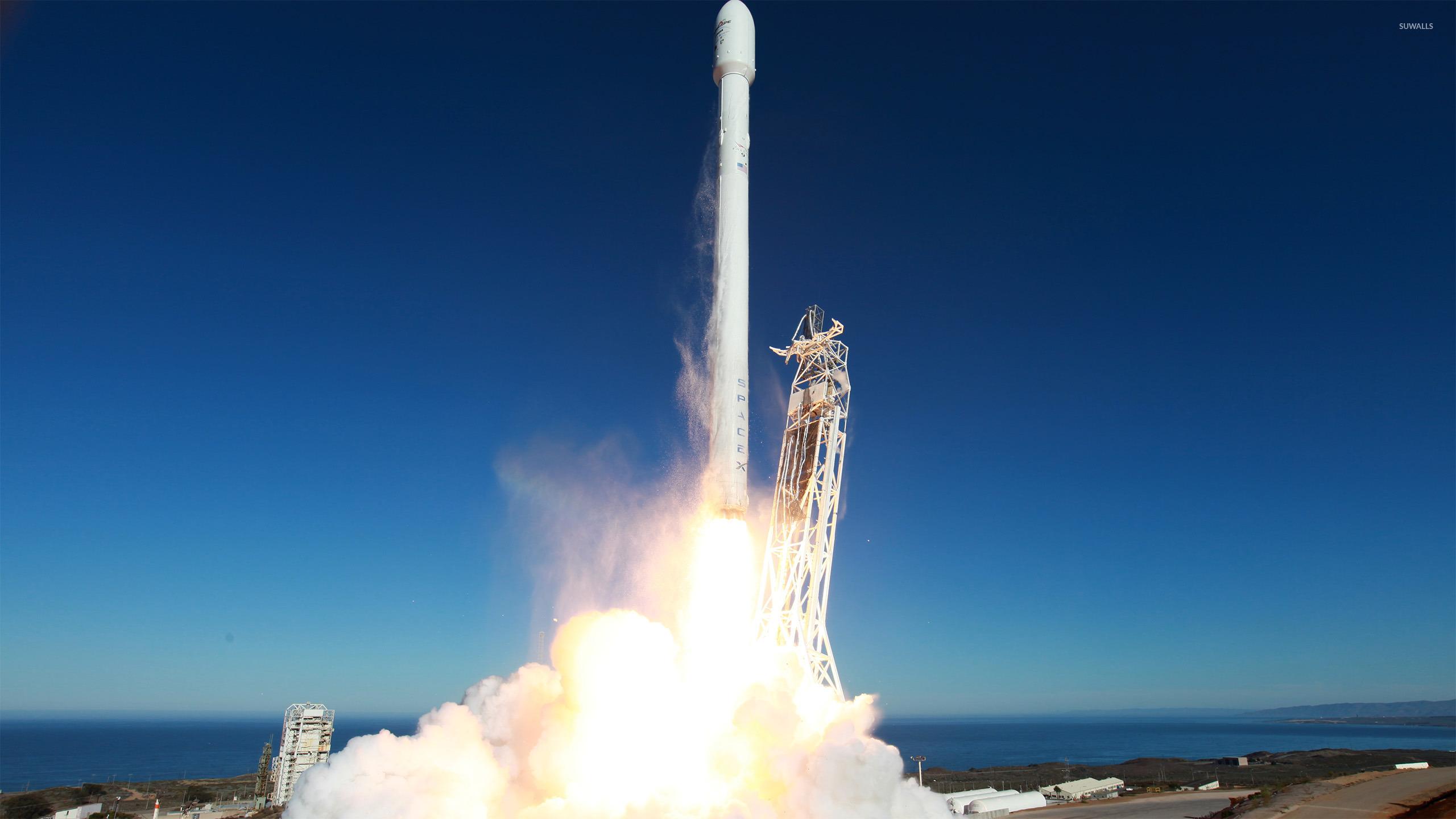 Rocket launching wallpaper - Space wallpapers - #37164