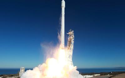 Rocket launching wallpaper