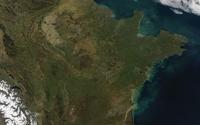 Satellite view of the Alps wallpaper 3840x2160 jpg
