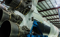 Saturn V rocket wallpaper 2880x1800 jpg
