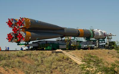 Soyuz TMA-05M wallpaper