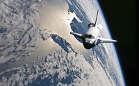 Space Shuttle Atlantis wallpaper 1920x1200 jpg
