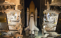 Space Shuttle Discovery [2] wallpaper 2560x1600 jpg