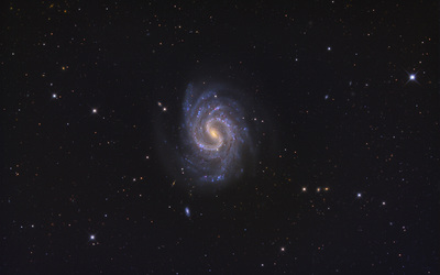 Spiral Galaxy NGC 4535 wallpaper