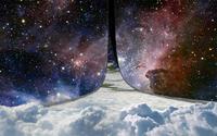 Split Carina Nebula wallpaper 2560x1600 jpg