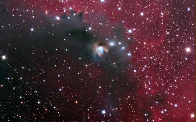 Star Cluster NGC 2327 wallpaper