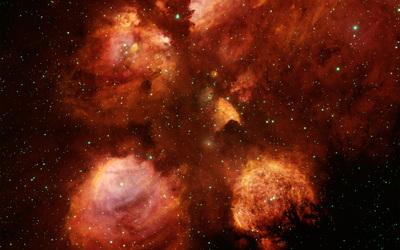The Cat's Paw Nebula wallpaper