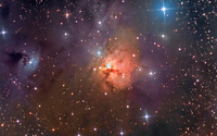 The Northern Trifid Nebula wallpaper 2560x1600 jpg