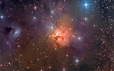 The Northern Trifid Nebula wallpaper