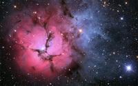 Trifid Nebula wallpaper 2560x1600 jpg