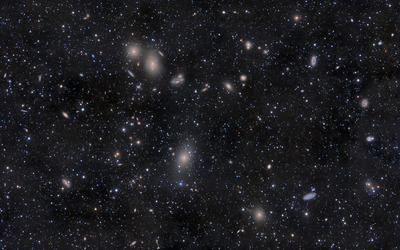 Virgo Cluster wallpaper