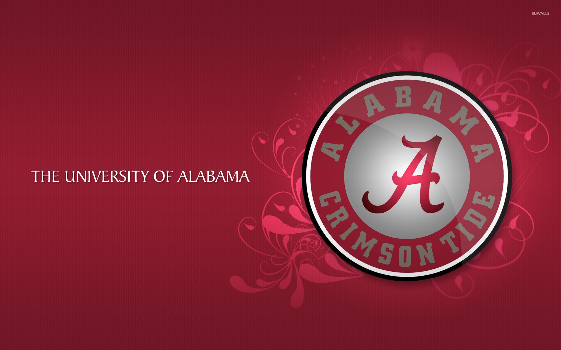 Alabama Crimson Tide Football Logo Wallpaper
