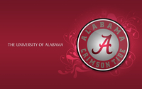 Alabama Crimson Tide football logo wallpaper 1920x1200 jpg