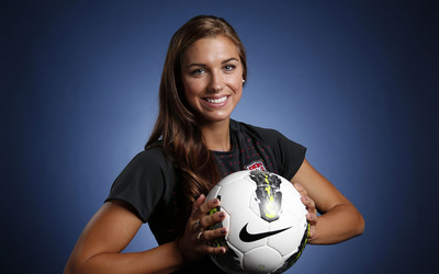 Alex Morgan [2] wallpaper
