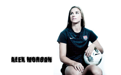Alex Morgan [3] wallpaper