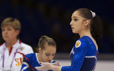 Aliya Mustafina [4] wallpaper