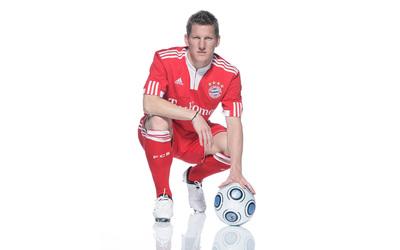 Bastian Schweinsteiger from Bayern Munchen wallpaper